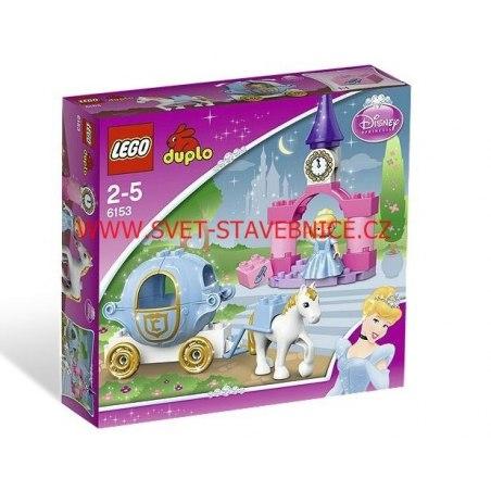 LEGO DUPLO - Popelčin kočár 6153