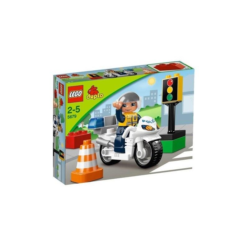 LEGO DUPLO - Policejní motorka 5679