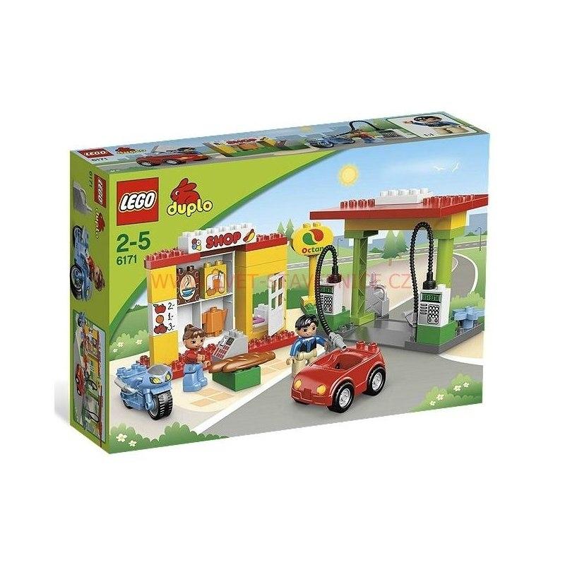LEGO DUPLO - Čerpací stanice 6171