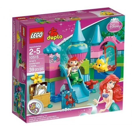 LEGO DUPLO - Podmořský zámek víly Ariel 10515
