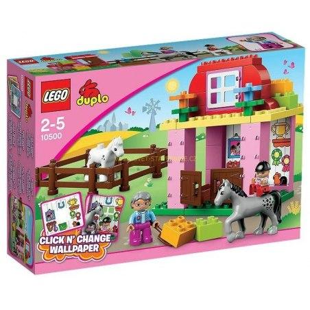 LEGO DUPLO - Koňské stáje 10500