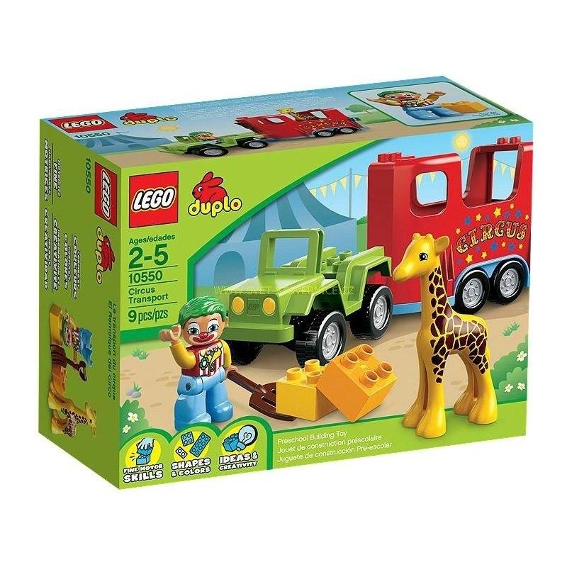 LEGO DUPLO - Cirkus na cestách 10550