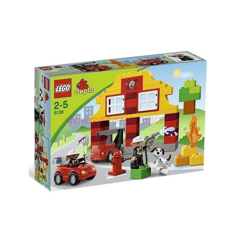 LEGO DUPLO - Moje první hasičská stanice 6138