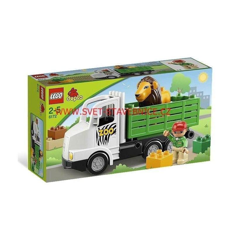 LEGO DUPLO - Zoo dodávka 6172