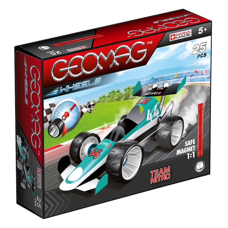 Geomag Wheels 711 zelená