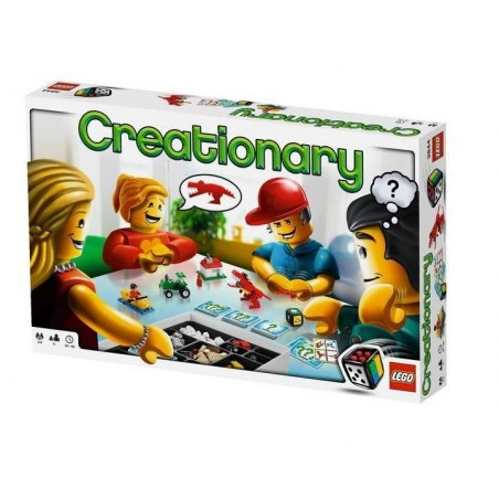 LEGO HRY - Představ si a postav 3844