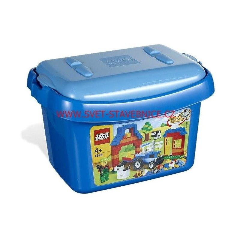 LEGO Kostičky - Box s kostkami 4626