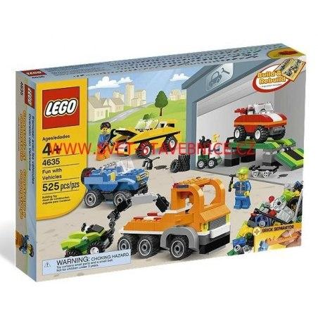 LEGO Kostičky - Bav se s autíčky 4635