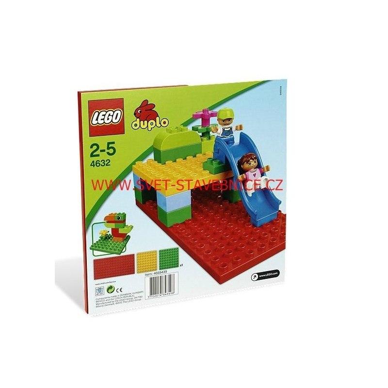 LEGO DUPLO - Podložky na stavění 4632