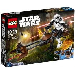 LEGO Star Wars 75532 Průzkumný voják a speederová motorka