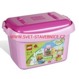 LEGO DUPLO - Růžový box s kostkami 4623