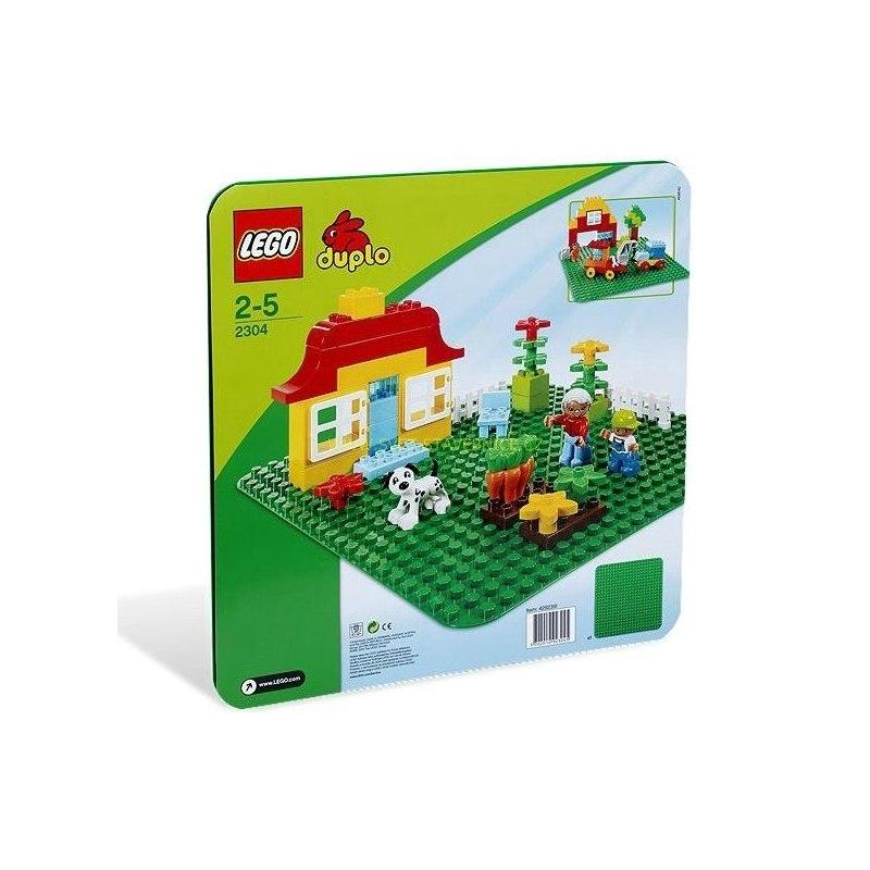 LEGO DUPLO - Velká zelená podložka na stavění 2304