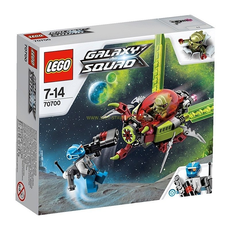 LEGO GALAXY SQUAD - Vesmírný hmyz 70700