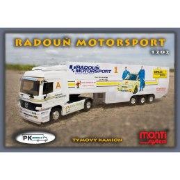 Monti System MS 1202 - Mercedes Actros Radouň MOTORSPORT 1:48