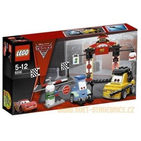 LEGO CARS Tokio - zastávka v depu 8206