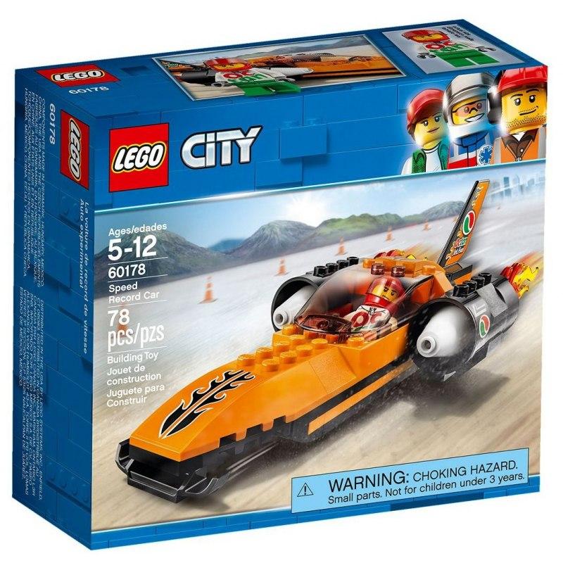 LEGO City 60178 Rychlostní auto