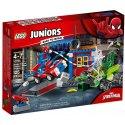 Připoutej se a přidej se ke Spider-Manovi na jeho honu za Scorpionem v jednoduché skládačce jeho Spidey-auta s pohyblivýma pavoučíma nohama.