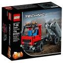 Užij si spoustu zábavy s toutojednoduchoureplikou skutečného Hákového nakladače od LEGO Technic.Použij nakladač k naložení nebo spuštění kontejneru.