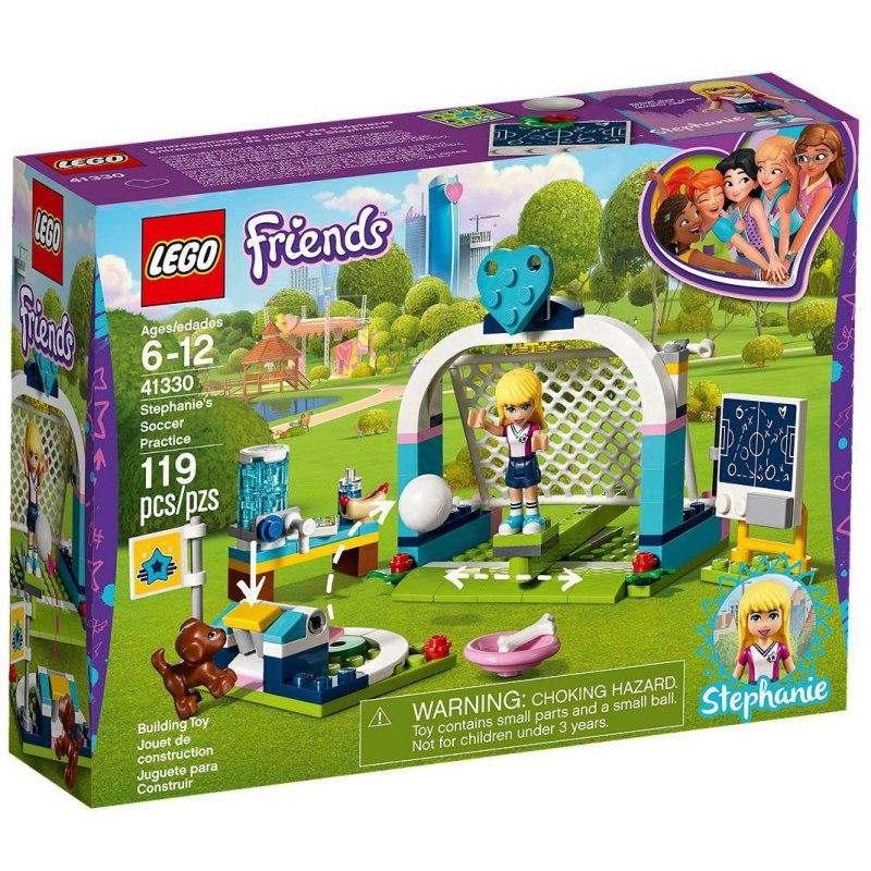 e622e8e45a LEGO Friends 41330 Stephanie na fotbalovém tréninku