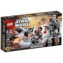 Vstup do světa Star Wars: Poslední Jedi s tímto dvojitým balením mikrostíhaček LEGO. Najdeš tu sněžný kluzák Odporu a útočnou mikrostíhačku Walker Prvního řádu.