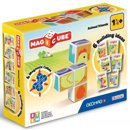 Geomag Magicube - Zvířátka