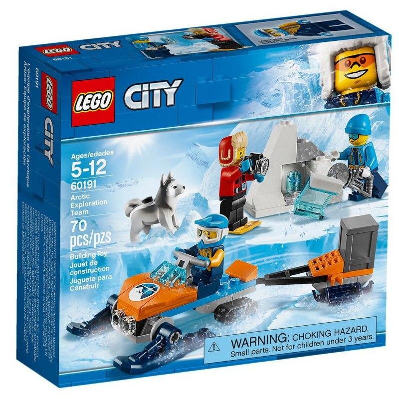 LEGO City 60191 Průzkumný polární tým
