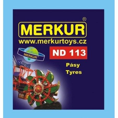 Merkur náhradní díly ND113 gumové pásy