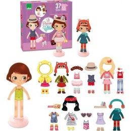 Vilac Dřevěné magnety oblékání panenka Chloe