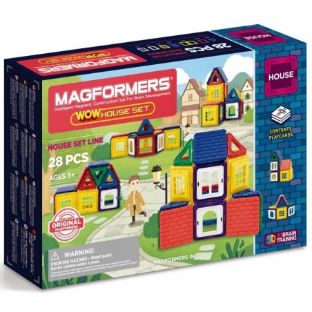 Magformers Wow House 28 dílků