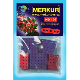 Merkur náhradní díly ND107 zkosené a zahnuté desky