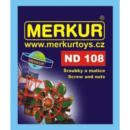 Merkur náhradní díly ND108 šroubky a matičky