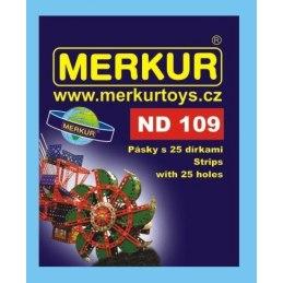 Merkur náhradní díly ND109 dlouhé pásky 25 dírek