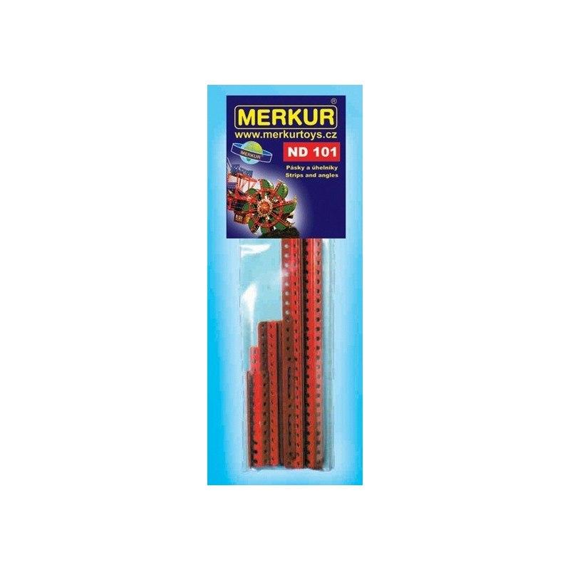 Merkur náhradní díly ND110 dlouhé úhelníky 25 dírek