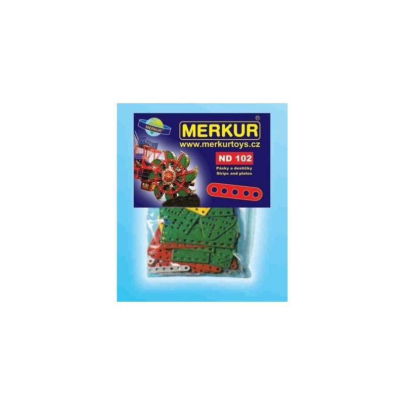 Merkur náhradní díly ND102 pásky a destičky