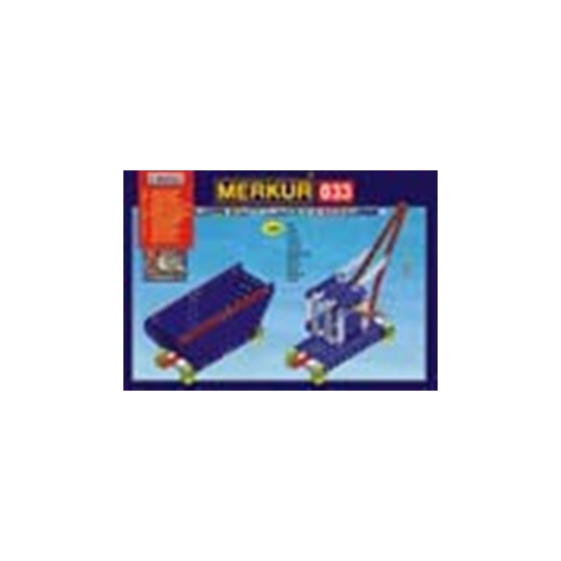 Merkur M 033 Raylway Models jeřáb