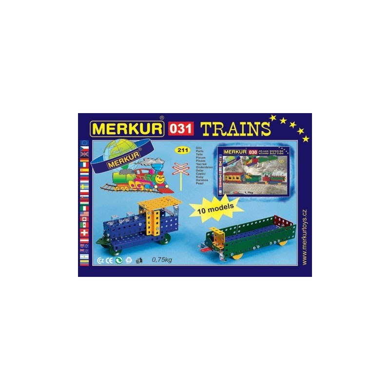 Merkur M 031 Raylway Models nákladní