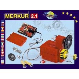 Merkur 2.1 elektromotorek, pohony a převody