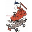 Monti System MS 03 - Technický automobil Land Rover 1:35