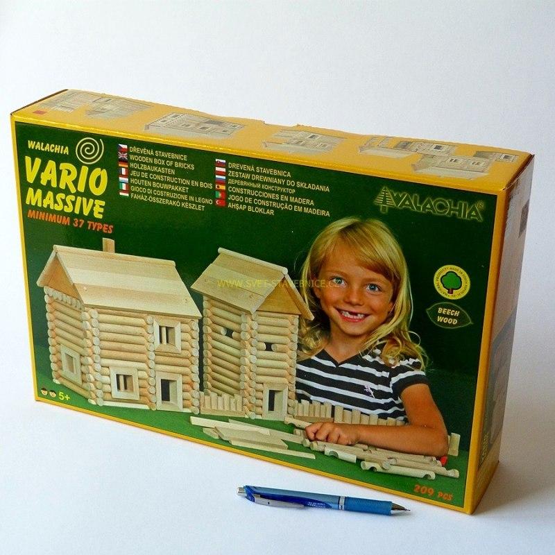 Walachia stavebnice - VARIO MASSIVE 209 pcs