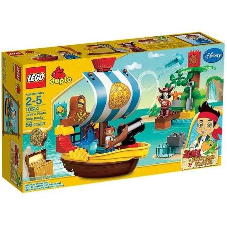 LEGO DUPLO 10514 - Jakeova pirátská loď Bucky