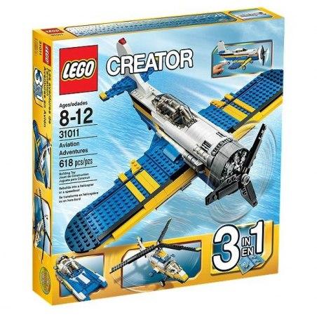 LEGO CREATOR 31011 - Letecká dobrodružství