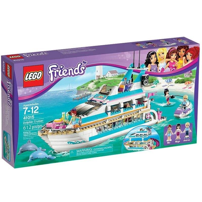 LEGO FRIENDS 41015 - Výletní loď za delfíny
