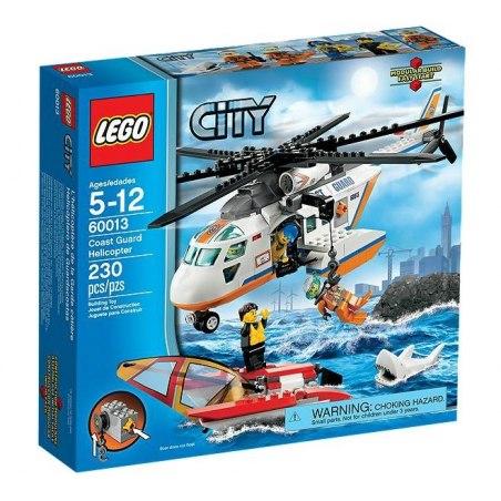 LEGO CITY 60013 - Helikoptéra pobřežní hlídky