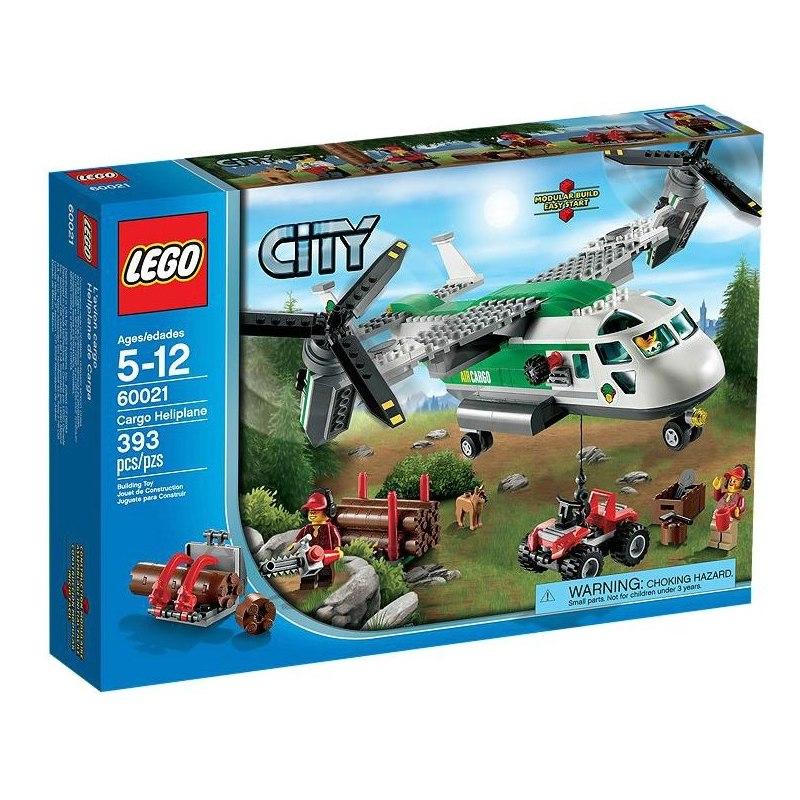LEGO CITY 60021 - Nákladní letadlo