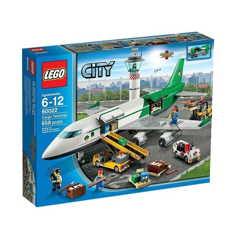 LEGO CITY 60022 - Nákladní terminál