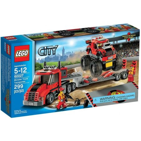 LEGO CITY 60027 - Transportér Monster trucků