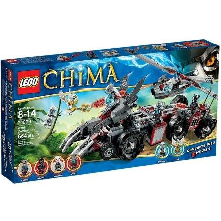 LEGO CHIMA 70009 - Worrizova bojová pevnost
