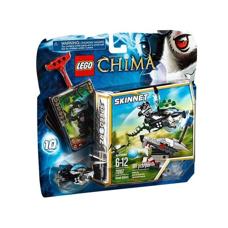 LEGO CHIMA 70107 - Skunk útočí