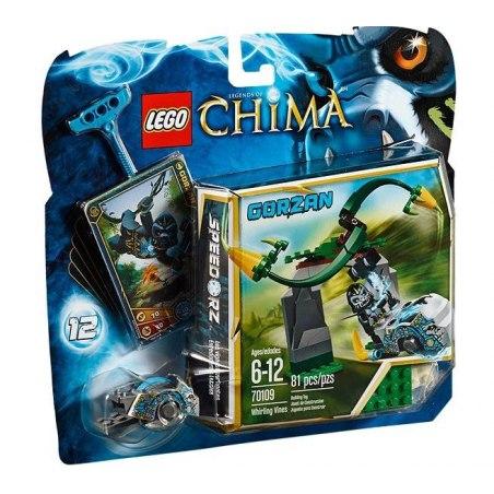 LEGO CHIMA 70109 - Zákeřné šlahouny