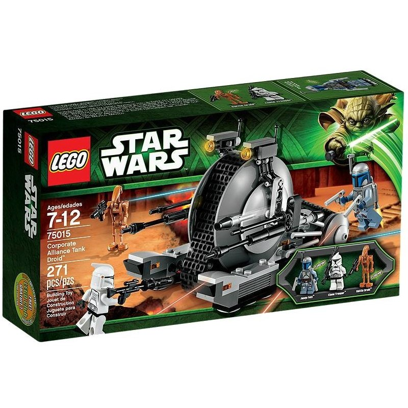 LEGO STAR WARS 75015 - Tankový droid Aliance
